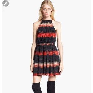 Alice + Olivia gathered top short dress size 12